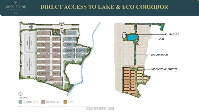 Siteplan MoonStone Lavon 2 Tangerang