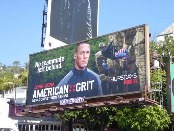 John Cena American Grit series premiere billboard