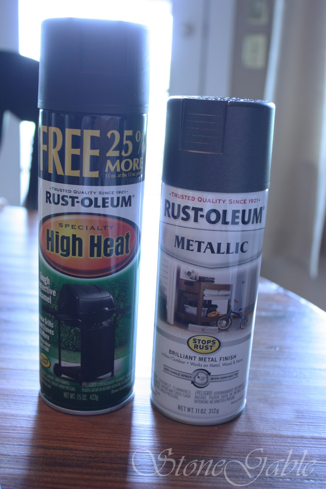 Oil Rubbed Bronze High Heat Paint
