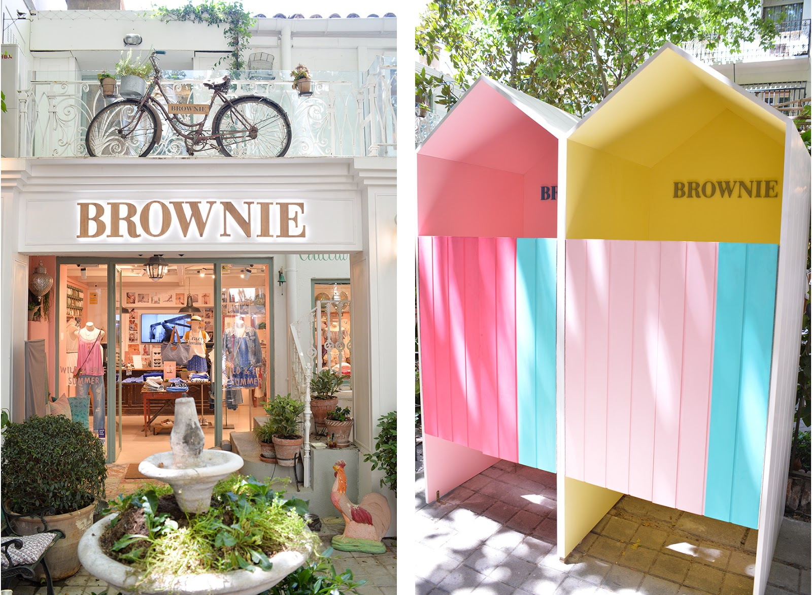 Brownie calle Hermosilla shopping guide Madrid