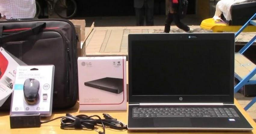 MINEDU entrega equipos informáticos para más de 166 mil alumnos de 22 regiones del país