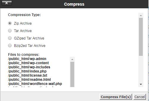 Cara Backup WordPress Secara Manual Melalui cPanel 3