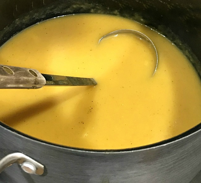 Butternut squash soup recipe for Thanksgiving