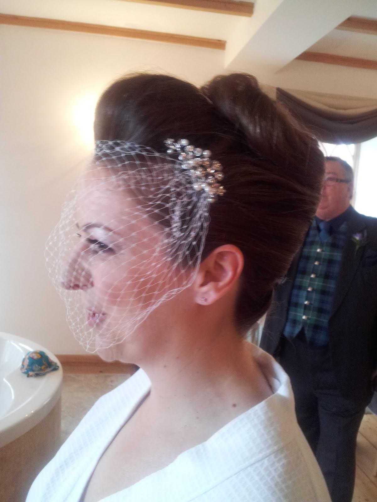 bridal hair quiff ~ the royal weddings