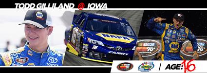 #NASCAR Rookies Rule - Todd Gilliland