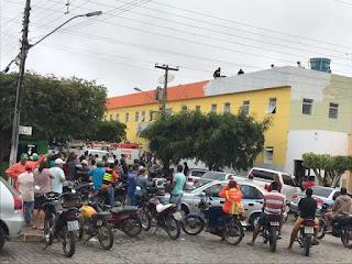 Em Cuité, homem sofre descarga elétrica enquanto trabalhava