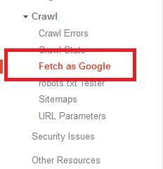 Menggunakan Fetch as Google dengan Benar