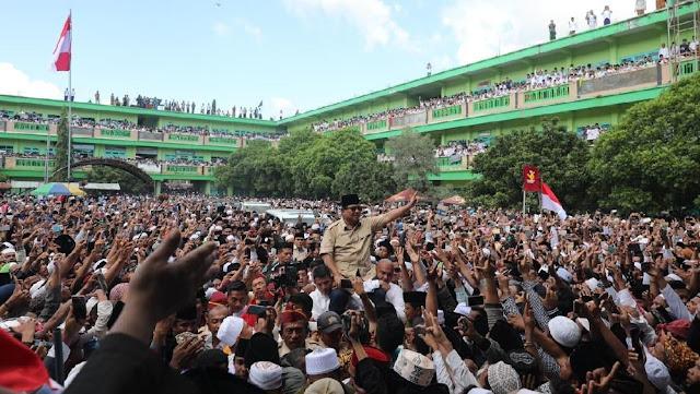 Prabowo: Terima Kasih Sambutan Luar Biasa Rakyat Pamekasan