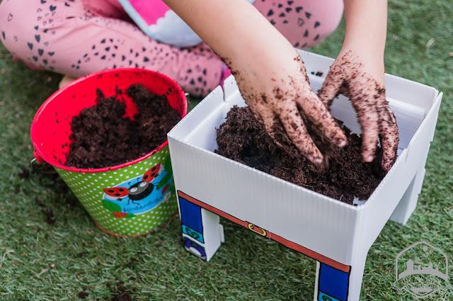 cómo hacer un huerto urbano con niños