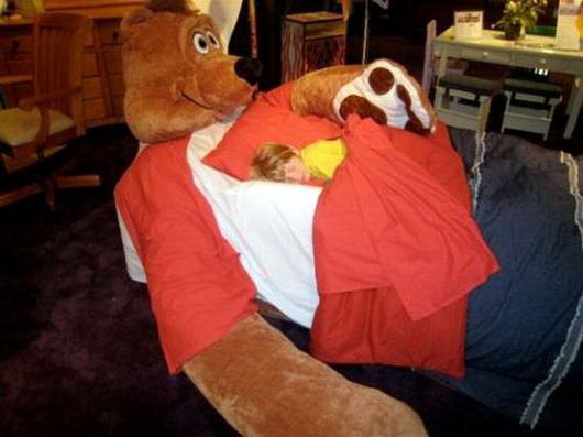 Tempat Tidur Unik dan Paling Aneh