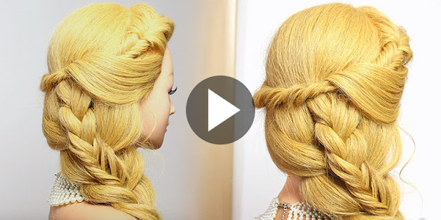 How To Create Quick And Easy Everyday Hairstyle, See Video Tutorial