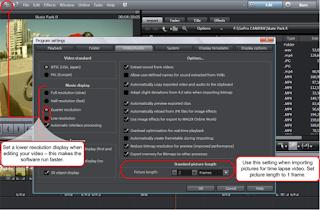 Editing GoPro Time Lapse