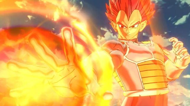 Dragon Ball Xenoverse 2  Menambahkan DLC Super Saiyan God Vegeta