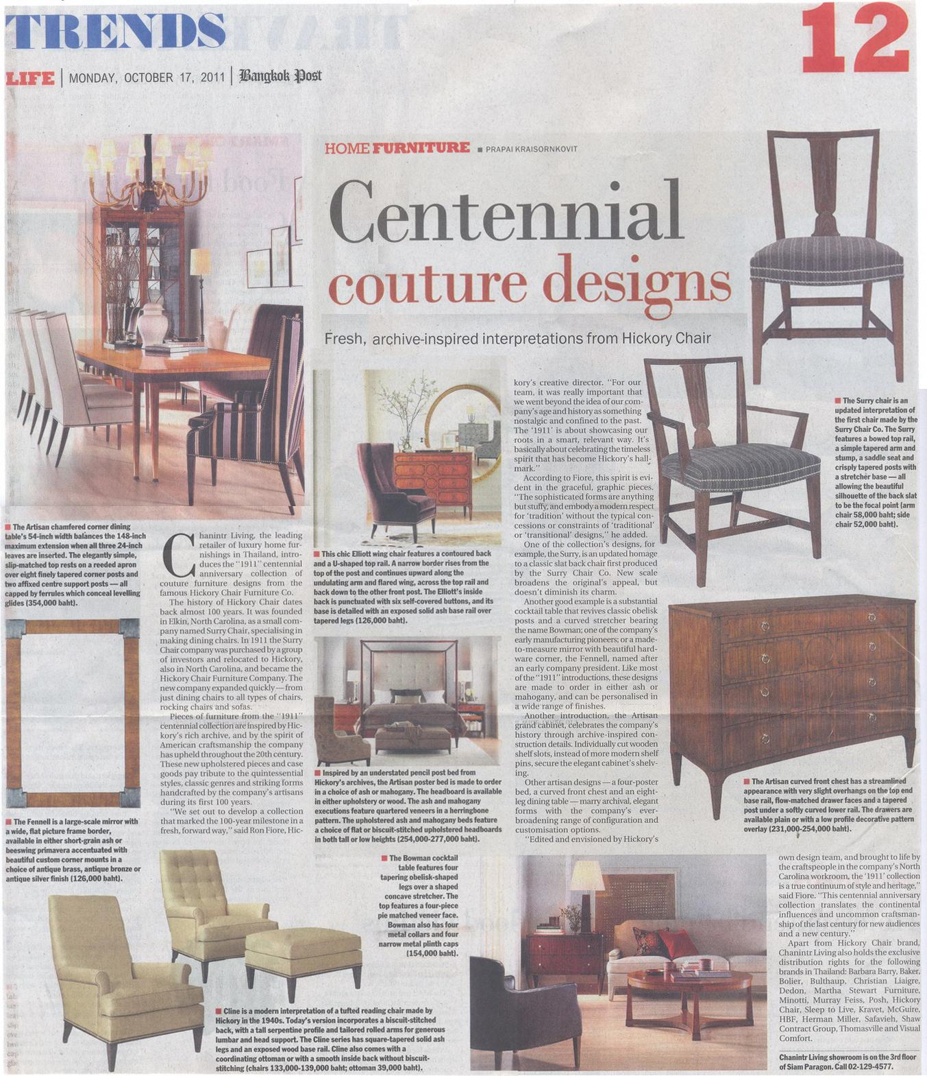 Wondrous Chanintr Living Press October 2011 Evergreenethics Interior Chair Design Evergreenethicsorg