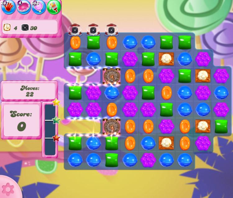 Candy Crush Saga level 2752
