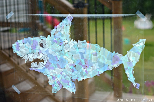 Suncatcher crafts for kids