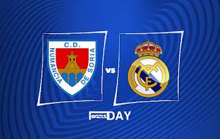 Numancia vs Real Madrid – Highlights