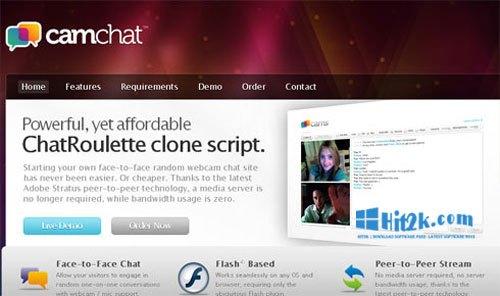 CamChat Script 3.6 ChatRoulette clone script Face-to-Face Chat