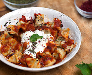 Turkish Dumpling (Manti)