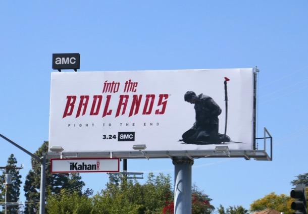 Into the Badlands final episodes billboard