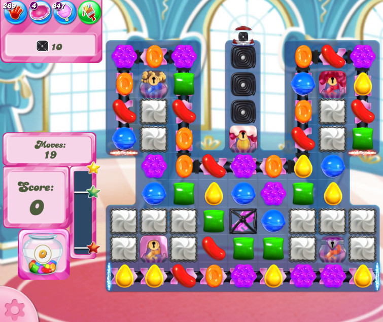 Candy Crush Saga level 2655