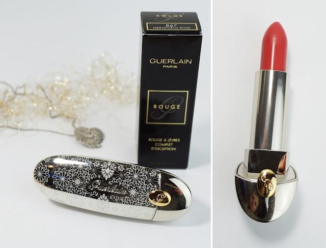 """Guerlain - Rouge G Lipcolor 867 Merveilleux Rose (Holiday Collection """"Neiges et Merveilles"""")"""