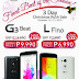 LG Philippines Christmas Sale Gives You LG G3 Beat for Php 9,990, LG L Fino for Php 6,990 Only