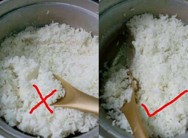 Adab beradab ketika cedok nasi