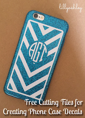phone case decals free chevron