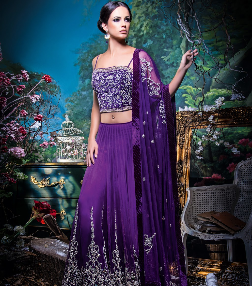 Bridal Anarkali Lengha Suits 2014