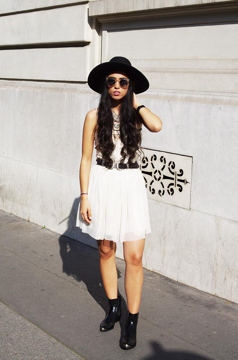 Elizabeth l Cowboy Princess outfit l Forever21 Vintage Levis Asos l THEDEETSONE l http://thedeetsone.blogspot.fr