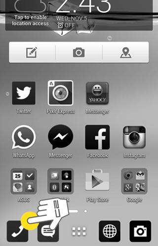 Cara Memblokir nomor HP di Asus Zenfone 4 5 6