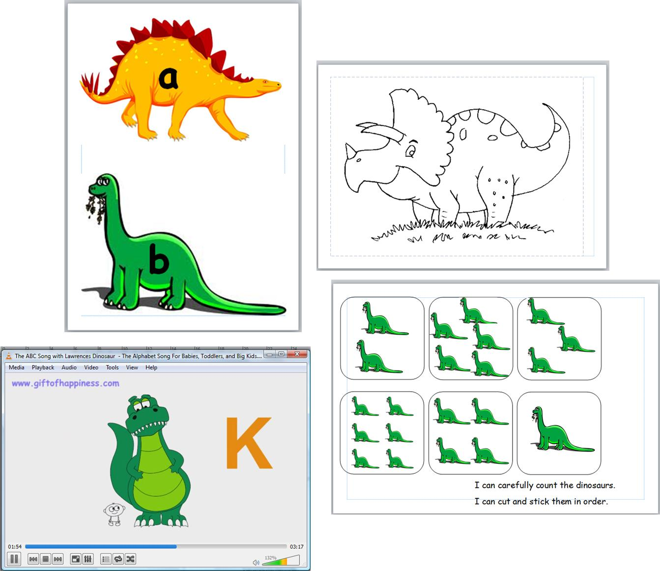 teaching resource dinosaurs ks1 early years infant topic iwb. Black Bedroom Furniture Sets. Home Design Ideas
