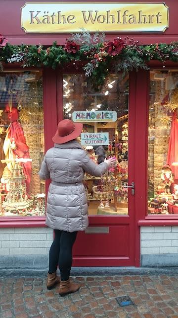 Kathe Wohlfahrt, wooden toys, Christmas shop
