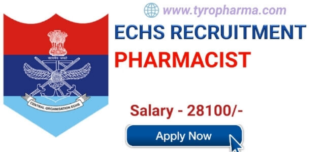 Pharmacist Job at ECHS | Ex-Servicemen Contributory Health Scheme