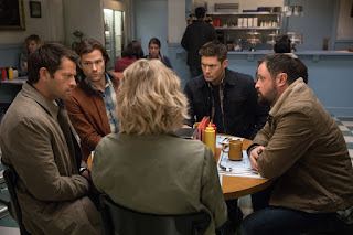 "Supernatural 12x12 ""Stuck in the Middle (With You)"""