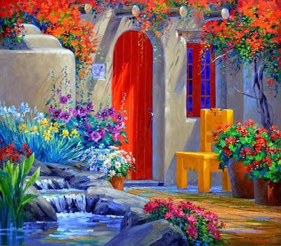 pintura-oleo-primavera