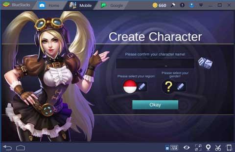 Daftar Baru Akun Mobile Legends Pc