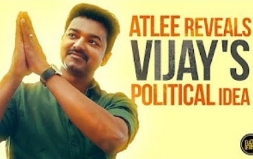 Atlee reveals Vijay's Political Idea | Fully Frank with Director Atlee