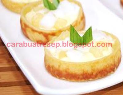 Foto Resep Kue Lumpur Pinacolla Bogasari Sederhana Spesial Asli Enak