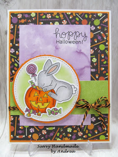 Hoppy Halloween by Andrea features Hoppy Halloween by Newton's Nook Designs; #newtonsnook