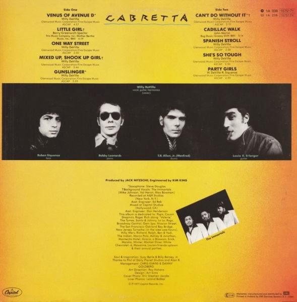 MINK DEVILLE - Cabretta (1977) 2