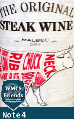 The Original Steak Wine Malbec 2015
