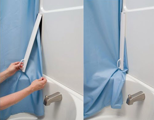 how to stop your shower curtain from blowing in 2013
