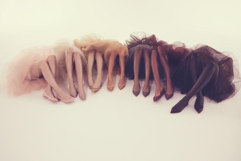 Christian Louboutin Solasofia Nude Ballet Flats