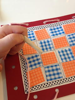 Q day preschool quilting
