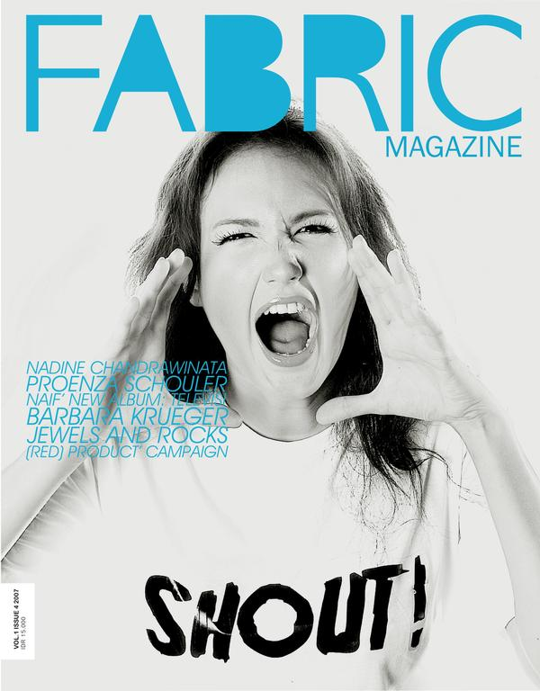 Love / Hate: Fabric Magazine (RIP) Cover, 4th Issue (2007