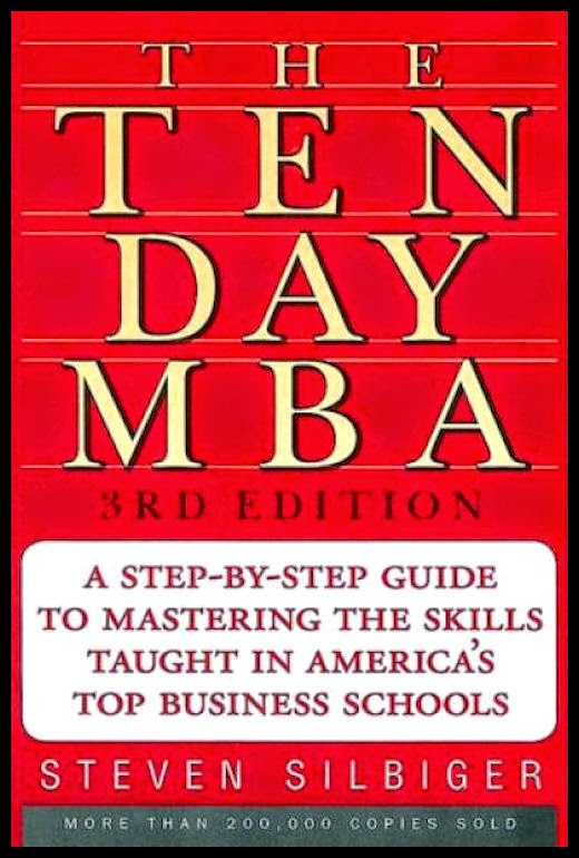15 Alessandro-Bacci-Middle-East-Blog-Books-Worth-Reading-Silbiger-The-Ten-Day-MBA