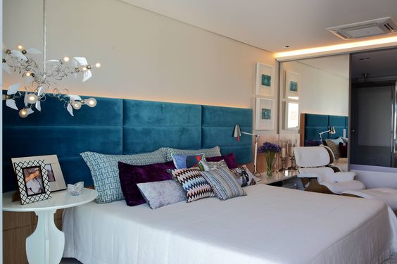 10 quartos de casal com decora o atual jeito de casa for Departamentos decorados por dentro