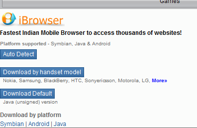 what you in NEED?: BEST JAVA MOBILE BROWSERS ( AT A GLANCE )